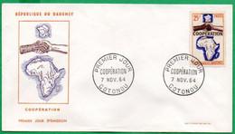 FDC - Coopération - 1964 - Benin – Dahomey (1960-...)