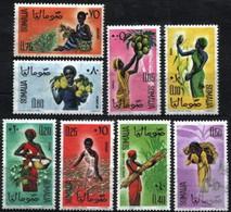 Somalia 1961 Mi 16-23 Girl Harvesting - MNH - Somalie (1960-...)