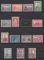 1931. Ruanda-Urundi. COB N° 92/106 Sans Le 98. *, MH. Cote COB 2020: 10 € - 1924-44: Ungebraucht
