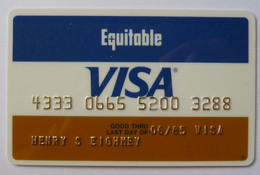 USA - Credit Card - VISA - Equitable Bank Of Delaware - Exp 06/85 - Used - Credit Cards (Exp. Date Min. 10 Years)