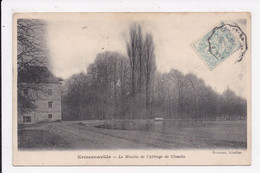 CP 60 ERMENONVILLE Le Moulin De L'Abbaye De Chaalis - Ermenonville