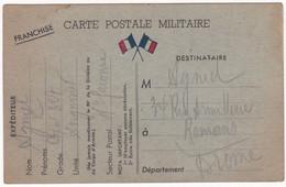 Militaria - Militaire : Guerre 1939-45 : Carte Postale Militaire : 1940 : Au Dos Souscrire Des Bons D'armement - Guerra 1939-45
