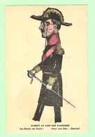 K905 - MILITARIA - Guerre 1914-18- Illustration Satirique, Caricature, Humour- Albert Le Lion Des Flandres -Roi Belgique - War 1914-18