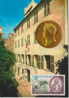 Carte Maximum 1969 France 200ème Anniversaire Naissance De Napoléon 1610 - Napoléon