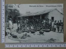 MOZAMBIQUE - MERCADO DO SENA -  1925 -   2 SCANS  - (Nº42730) - Mozambique