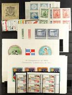 LATIN AMERICA Mint Selection Including Uruguay 1927 Philatelic Expo Min Sheets, 1931 Expo Min Sheets, Paraguay 1961 Ten - Unclassified