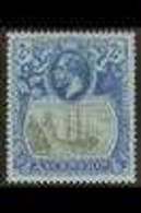1924-33 2s Grey-black & Blue On Blue, SG 19, Very Fine Mint For More Images, Please Visit Http://www.sandafayre.com/item - Ascension (Ile De L')
