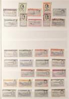 1934-69 FINE USED Group Of Sets Incl. 1934 KGV Pictorial Defins Set, 1938-53 KGVI Basic Set Plus A Few Extra Perfs, 1948 - Ascension (Ile De L')