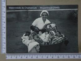 MOZAMBIQUE - MATERNIDADE DO CHAMANGULO -  1940 -   2 SCANS  - (Nº42732) - Mozambique