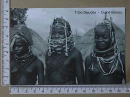 GUINÉ BISSAU - TRIBO BAJUDAS -  COSTUMES AFRICANOS -   2 SCANS  - (Nº42733) - Guinea-Bissau