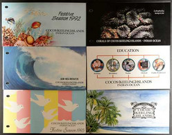 1969-1993 SUPERB NEVER HINGED MINT COLLECTION Of All Different Complete Sets & Mini-sheets In Presentation Packs, Includ - Cocos (Keeling) Islands