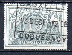 TR 8 Gestempeld BRUXELLES DUQUESNOY - Met Watermerk - Used