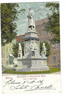 10.210 - MILANO MONUMENTO A LEONARDO DA VINCI 1904 DISEGNATA - Milano (Milan)