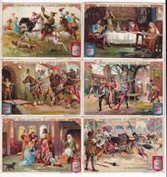 Chromo Liebig Sang. 809 ITA La Vita Al Castello Feudale ANNO 1905 - Liebig