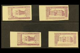 1943 2nd Anniversary Of Independence, Postage Set, As SG 265-8, Proof Set In Lilac On Gummed Paper. (4 Proofs) For More - Lebanon