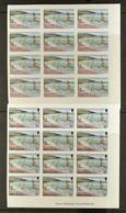 1986PROGRESSIVE COLOUR PROOFS. Of 1986 Tourism Complete Set (SG 710/23) - Each Value With Seven Different Progressive C - Montserrat