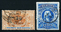 Mauricio (Británico) Nº 97-98 Usado - Mauricio (...-1967)