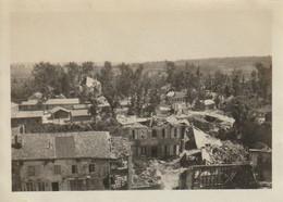 Photo Avril 1920 GRANDPRE - Une Vue Du Côté De La Gare (A229, Ww1, Wk 1) - Sonstige Gemeinden