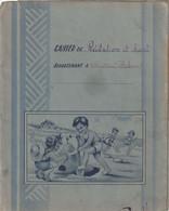PROTEGE CAHIER  . P.E.P. .       S & O .         ILLUSTRATIONS SIGNEES GOUGEON .     VOIR SCANS - Protège-cahiers