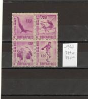 JAPON 1947 Série N° 377-380 NEUVE** MNH - Nuovi