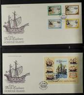 1994-2012 FIRST DAY COVER COLLECTION ALL DIFFERENT Collection Of Illustrated & Unaddressed First Day Covers, Includes 19 - Norfolk Island