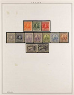 1926-1967 NEVER HINGED MINT COLLECTION In Hingeless Mounts On Leaves, ALL DIFFERENT, Includes 1926 Centennial Set, 1934  - Panama