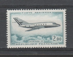 FRANCE / 1965 / Y&T PA N° 42 ** : Mystère 20 X 1 - 1960-.... Ungebraucht