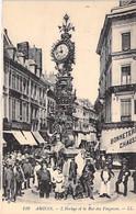 80 - AMIENS La Grosse Horloge Et Rue Des Vergeaux - CPA - Somme  Big Clock - Grosse Uhr - Grote Klok - Grande Orologio - Amiens
