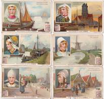 Chromo Liebig S. 844 Acconciatura Olandesi 1906 ITA - Liebig