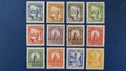 Tunisie - YT N° 161 à 176 * Neuf Avec Charnière - Unused Stamps
