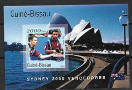 GUINEA - BISSAU 2001 OLYMPIC GAMES SYDNEY WINNERS   Imperforated - Estate 2000: Sydney