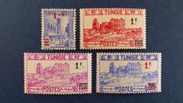 Tunisie - YT N° 223 à 226 * Neuf Avec Charnière - Unused Stamps