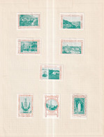 Austria Scarce German Österreich Poster Stamps Vignette Group  PILGER PILGAR PILGRIM - Nuevos