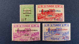 Tunisie - YT N° 227 à 230 * Neuf Avec Charnière - Unused Stamps