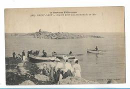 Saint Cast - Depart Pour Une Promenade - Saint-Cast-le-Guildo
