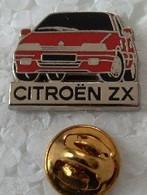 Pin's - Automobiles - CITROEN ZX - Signé Decat - - Citroën