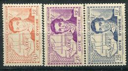 Côte D'Ivoire             141/143 ** - Unused Stamps