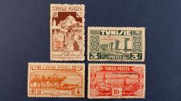 Tunisie - Année 1945 Du N° 269 à 303 * Neuf Avec Charnière Sauf N° 276 Et 278 - Unused Stamps