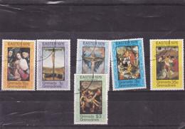 GRENADINES : Tableaux De Maitres  : Y&T : N°151 O à 156 O - Grenada (1974-...)