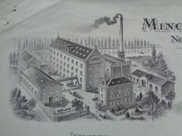 FACTURE - 72 - DEPARTEMENT DE LA SARTHE - NOYEN:SARTHE 1920 - MINOTERIE DU GORD : E. BARRIER - Unclassified