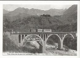06 LA BOLLENE VESUBIE REPRO Train Sur Le Viaduc Du Martinet à LANTOSQUE Vers 1922 - Lantosque
