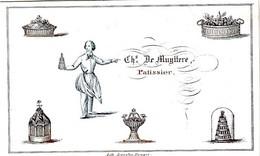 DE 663- Carte Porcelaine Du Chs. De Muyttere, Patissier Imp Daveluy, Bruges - Sin Clasificación