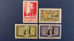 Tunisie - Année 1948 Complète Du N° 324 à 327 * Neuf Avec Charnière - Unused Stamps