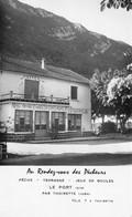 Le PORT (Ain) Par Thoirette (Jura) - Hôtel-Restaurant Au Rendez-vous Des Pêcheurs - Other Municipalities