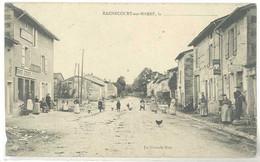 Cpa Rachecourt Sur Marne - La Grande Rue ( Bureau De Poste à Droite )   ( S. 5259) - Other Municipalities