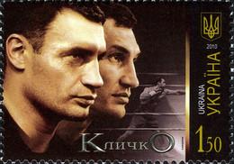 Ukraine 2010 Mi.No. 1089 Vitali Wladimir Klitschko Sport Boxers Boxing 1V  MNH ** 0.80 € - Ukraine