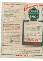Dépliantn°12B Connaissez-vous Tous Les Services Que Peut Vous Rendre La SNCF Liste Des Bureaux De Ville De La SNCF 1948 - Ferrovie