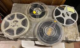 Lot  De Films Et Aussi Des Bobines Vide ( Voir Détail Dans Description Et Photos ) - Altri