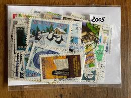 Timbres Oblitérés Année 2005 France Année Complète (132 Timbres) - 2000-2009