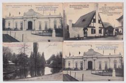 LIEGE 4 CARTES  EXPO 1905 - Liège